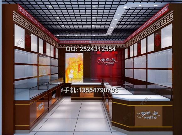珠宝展示柜    品牌:华信展示     出处:华信整体家具     颜色尺寸