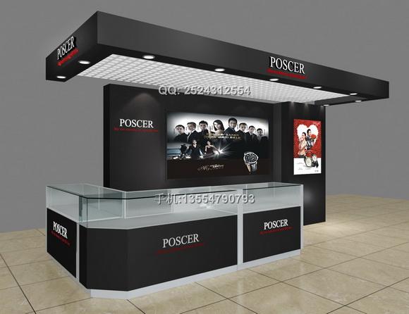 钟表展示柜dp05-33 - 钟表展示柜 - 展柜设计_深圳厂