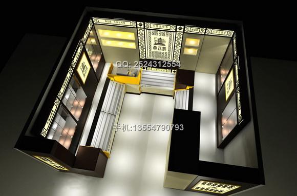 香烟展示柜dp09-13 - 香烟展示柜 - 展柜设计|深圳厂