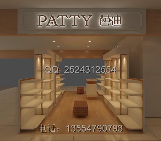 芭迪女鞋店面设计图