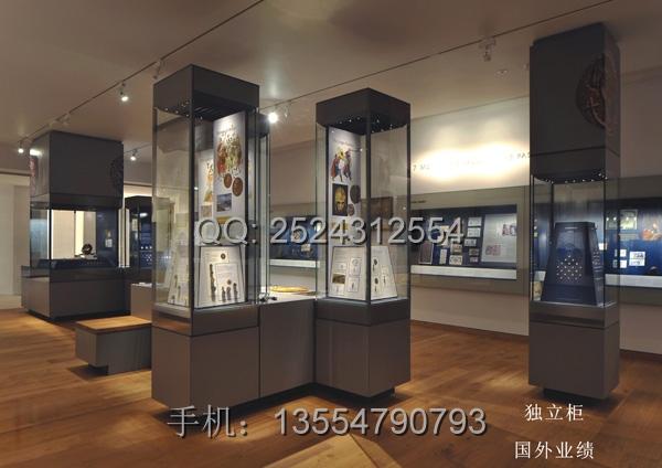 国外博物馆展示柜案例