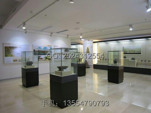 会所展厅博物馆展柜设计图